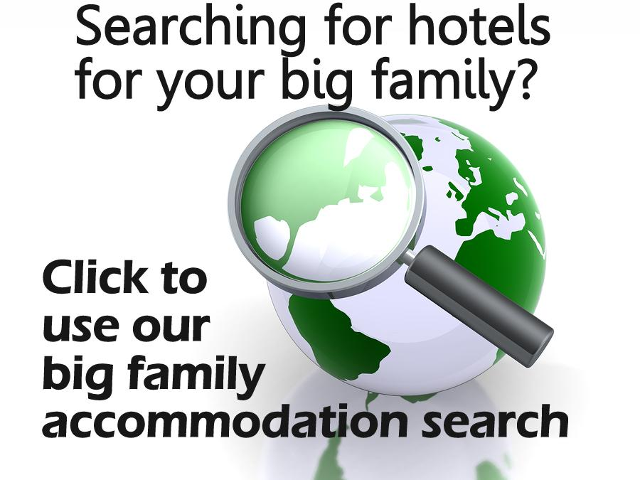 big family accommodations search