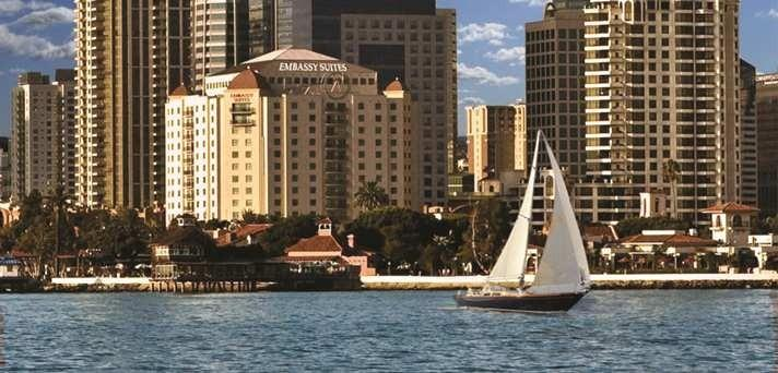 Embassy Suites San Diego Bay Downtown Family Hotels
